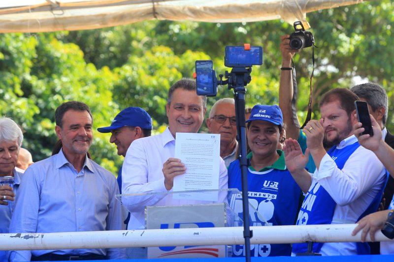Rui Costa Participa De Ato Na União Dos Municípios Da Bahia