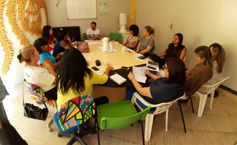 –SAS Alinha Ações Para Realização Da II Semana Municipal Da Juventude
