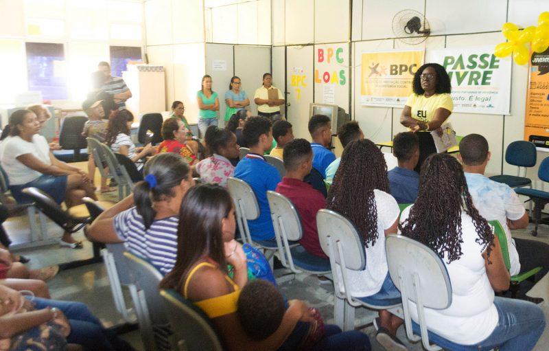 SAS Promove Palestra Para Jovens Do Plantão Social