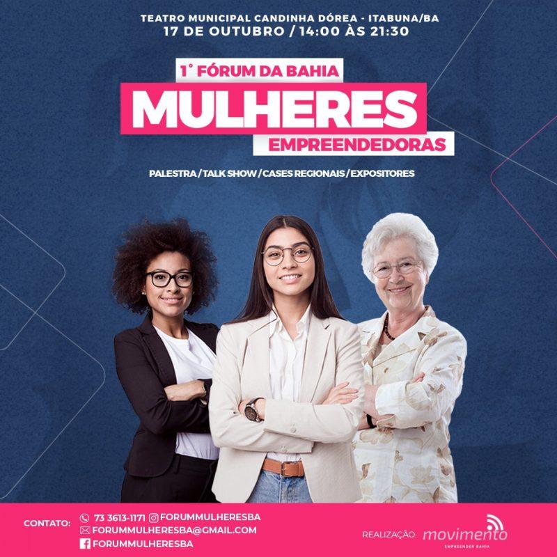 Fórum Oferece Programação Para Mulheres Empreendedoras Em Itabuna