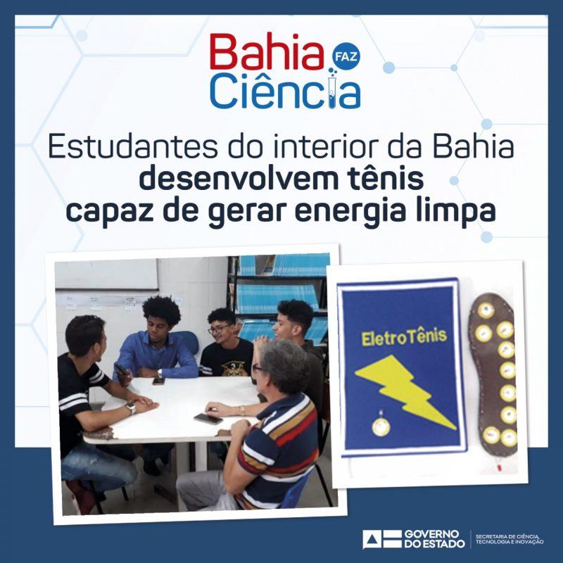 Estudantes Do Interior Da Bahia Desenvolvem Tênis Capaz De Gerar Energia Limpa