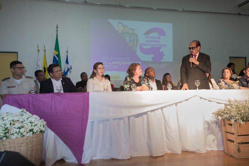 Prefeito Fernando Gomes Participa Do Lançamento Da Patrulha Guardiã Maria Da Penha