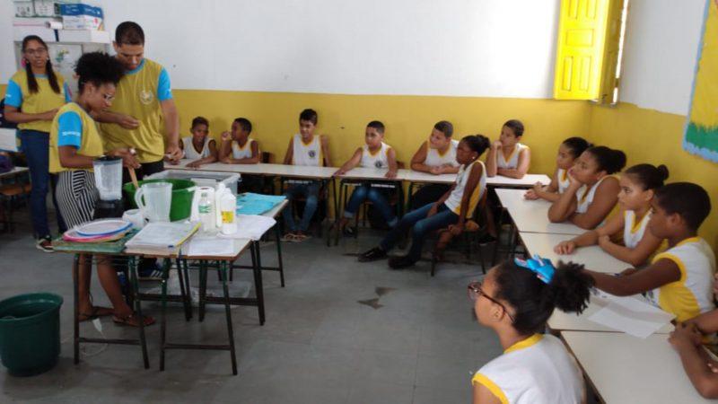 Projeto Mão Na Massa Leva Experimentos  Científicos à Escolas Municipais De Itabuna