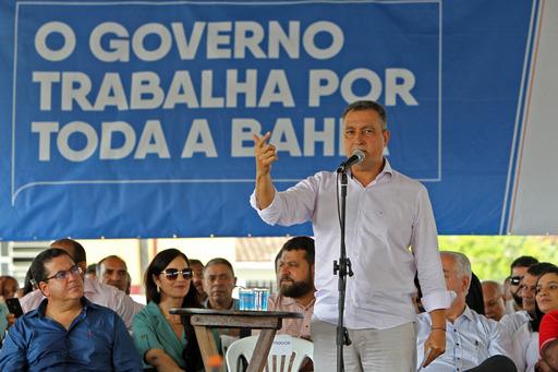 Governador Rui Costa Inaugura Obras Em Pau Brasil, Nesta Quinta-feira