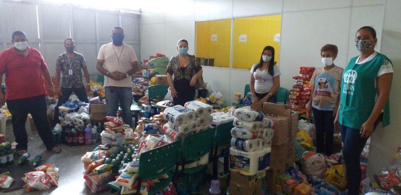 Drive Thru Solidário Arrecada Três Toneladas De Donativos