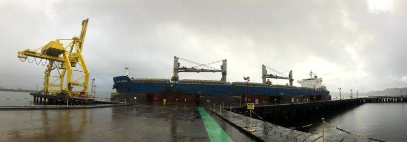 Minério Baiano Tipo Exportação Começa A Ser Escoado Pelo Terminal Portuário Da Enseada