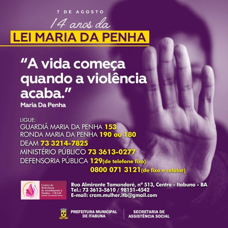 Campanha Agosto Lilás Reforça O Combate A Violência Doméstica Contra à Mulher