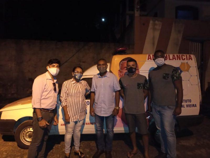 Clínicas Naaps Ganham Ambulância Doada Pelo Instituto Lourival Vieira