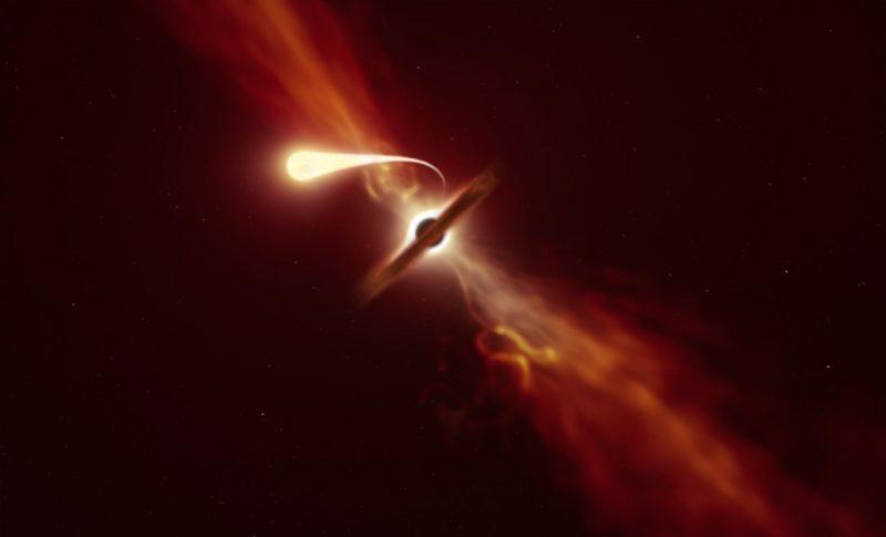 O Que é 'espaguetização', Fenômeno Pelo Qual Cientistas Observaram Buraco Negro Devorar Estrela