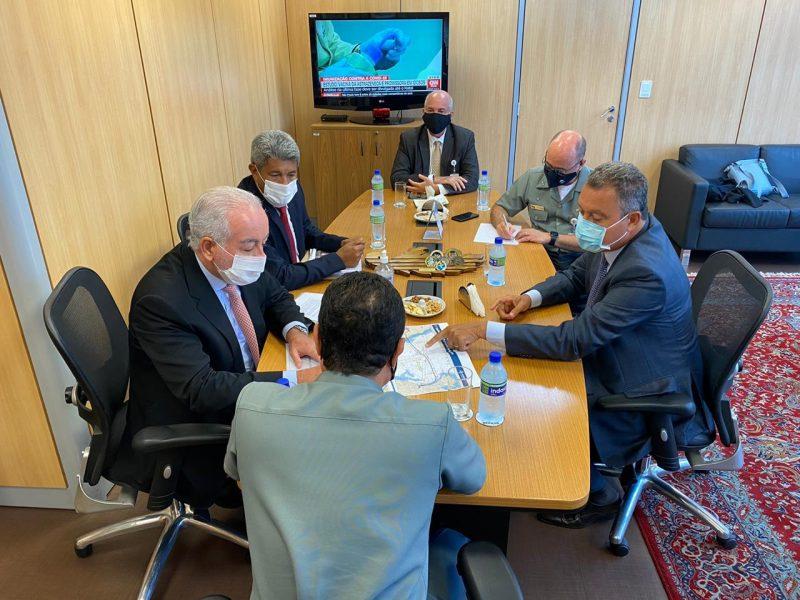 Governador Solicita Apoio Do Ministério Da Defesa Durante Obras Da Ponte Salvador-Itaparica