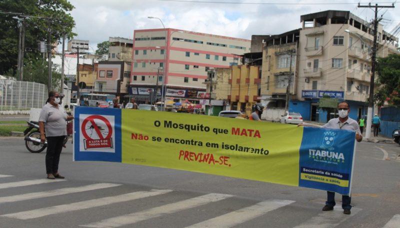 Vigilância Epidemiológica Faz Pit Stop De Combate A Dengue No Centro De Itabuna