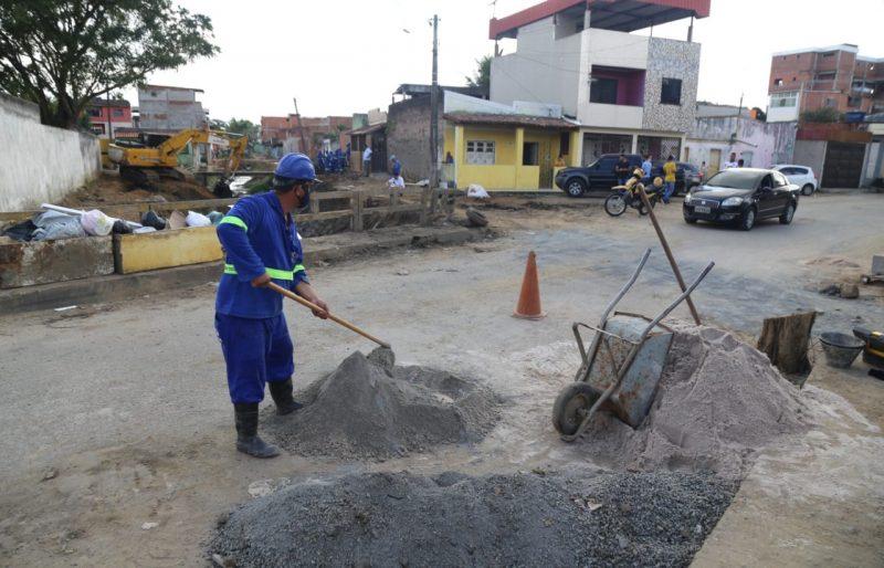 Emasa Conclui A Primeira Etapa Das Obras De Saneamento Do Canal Do Bairro Santo Antônio
