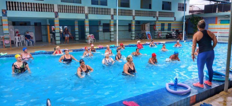 Projeto Aquático Na Piscina Do Ciso Estimula Quase 500 Pessoas A Se Exercitar