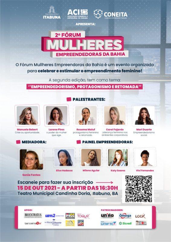 Fórum Vai Reunir Mulheres Empreendedoras No Teatro Candinha Doria, Nesta Sexta, 15