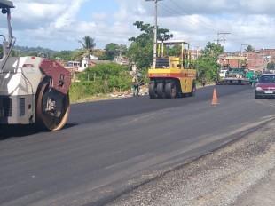 Itabuna: Semi-Anel Rodoviário passa por restauração Serviços estão sendo feitos na via que faz ligação da BR-101 com a BR-415