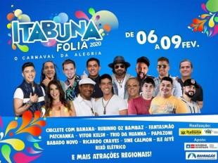 Prefeitura de Itabuna divulga atrações da Lavagem do Beco do Fuxico e do Itabuna Folia 2020