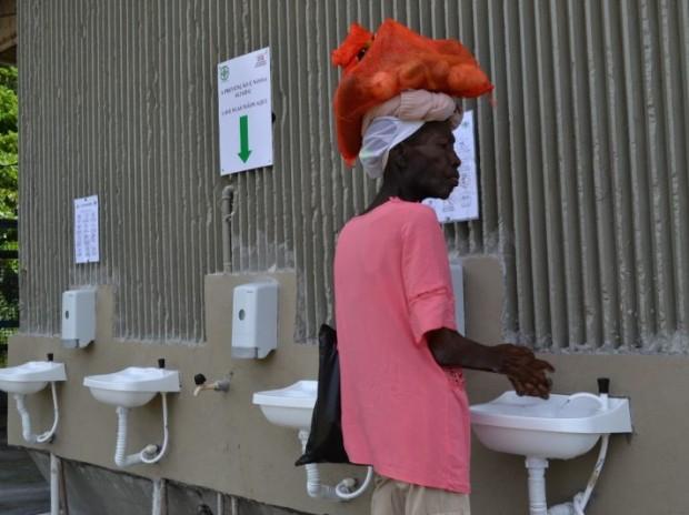 Covid-19: Ceasa reforça medidas de prevenção com pontos de higienização